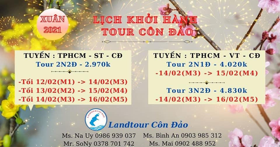 Tour du lịch Côn Đảo bởi Công ty TNHH Landtour Côn Đảo
